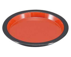 和食器 エ706-176 [A]新薬味皿 朱天黒