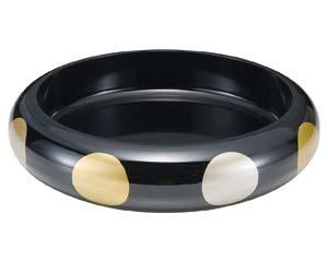 【まとめ買い10個セット品】エ714-337 [A]S.D.X桶 黒日月尺1寸【キャンセル/返品不可】【厨房館】