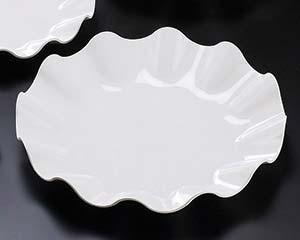 【まとめ買い10個セット品】ヌ720-107 [M]ウェーブ丸盛皿40cm【キャンセル/返品不可】【厨房館】
