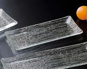 【まとめ買い10個セット品】和食器 ヌ725-146 [AC]さざ波長角盛皿(細タイプ)40cm 【キャンセル/返品不可】【厨房館】