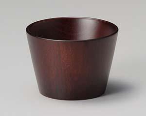 【まとめ買い10個セット品】和食器 ワA733-156 木製クラフトカップ ブラウン(M) 【キャンセル/返品不可】【厨房館】