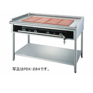 【 業務用 】ガス式壁ピタット・たこ焼X 28穴 銅製たこ鍋 PDX-283【 メーカー直送/後払い決済不可 】