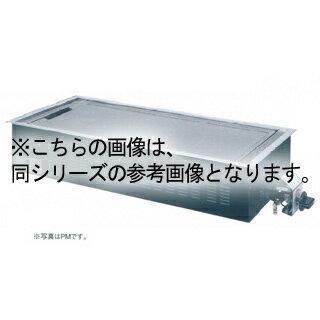 【 業務用 】 テーブル用 ガス式ユニット Pシリーズ PO 6枚焼 12A・13A(都市ガス)【 メーカー直送/後払い決済不可 】【厨房館】