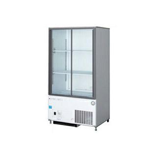 【 業務用 】福島工業 フクシマ 冷凍機内蔵型 リーチインショーケース 幅750mm 奥行450mmタイプ CRU-080GLWSR【 メーカー直送/後払い決済不可 】【PFS SALE】