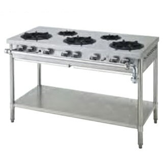 豪華な sap-sgt126-5 業務用 ガステーブル SGT126-5 LPG NEW メーカー直送 厨房館 プロパンガス 後払い決済不可