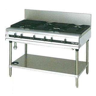 【 業務用 】マルゼン パワークックガステーブル MGTX-127E 1200×750×800【 メーカー直送/後払い決済不可 】