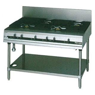 【 業務用 】マルゼン パワークックガステーブル MGTXS-127E 1200×750×800【 メーカー直送/後払い決済不可 】