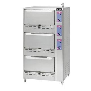 【 業務用 】立体炊飯器 タイマー付 MRC-T3D【 メーカー直送/後払い決済不可 】