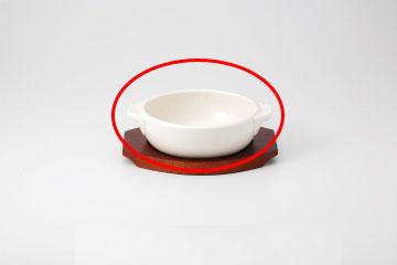 【まとめ買い10個セット品】和食器 耐熱シリーズ白 丸グラタン(大) 36A434-12 まごころ第36集 【キャンセル/返品不可】【厨房館】