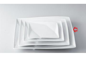【まとめ買い10個セット品】和食器 折紙 12吋角皿 36A398-11 まごころ第36集 【キャンセル/返品不可】【厨房館】