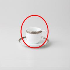 【まとめ買い10個セット品】和食器 バルセロナ(ウルトラホワイト デミコーヒーC 35A449-63 まごころ第35集 【キャンセル/返品不可】【厨房館】