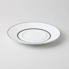 【まとめ買い10個セット品】和食器 アルティマ RR24cmプレート 36A483-12 まごころ第36集 【キャンセル/返品不可】【厨房館】