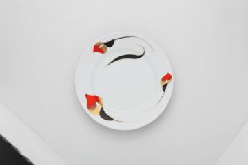 【まとめ買い10個セット品】和食器 ラッパ草 10吋皿 35M443-04 まごころ第35集 【キャンセル/返品不可】【厨房館】