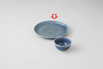 【まとめ買い10個セット品】和食器 青結晶 ソバ皿 36F310-10 まごころ第36集 【キャンセル/返品不可】【厨房館】