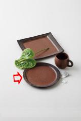 【まとめ買い10個セット品】和食器 espresso サークルプレート 36F453-01 まごころ第36集 【キャンセル/返品不可】【厨房館】