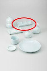 【まとめ買い10個セット品】和食器 青白磁 三品皿 36H309-31 まごころ第36集 【キャンセル/返品不可】【厨房館】