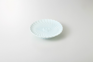 kak-910409 和食器 青磁 高台皿 毎日続々入荷 保障 36H171-08 厨房館 キャンセル まごころ第36集 返品不可