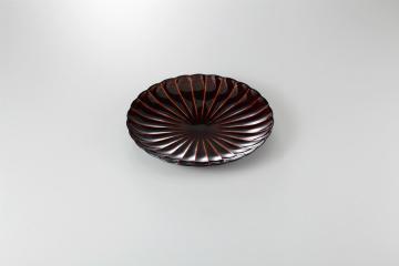 【まとめ買い10個セット品】和食器 漆ブラウン 6寸皿 35K210-04 まごころ第35集 【キャンセル/返品不可】【厨房館】