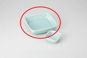 優先配送 kak-290086 和食器 青白瓷 唐草6.0角鉢 36Q021-33 倉庫 まごころ第36集 キャンセル 返品不可 厨房館