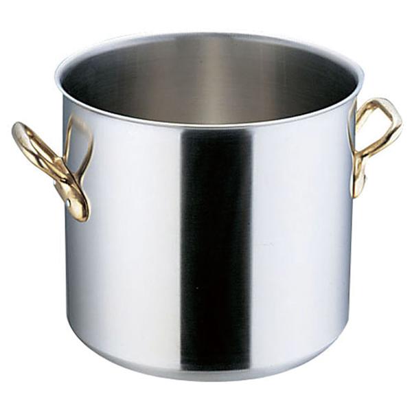 【 業務用 】エコクリーン スーパーデンジ 寸胴鍋[蓋無] 24cm IH鍋寸胴鍋IH対応