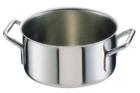 【 業務用 】半寸胴鍋 シットラムイノックス18-10半寸胴鍋 三重底[蓋無]22B 22cm