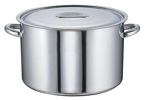 【 業務用 】半寸胴鍋 SAモリブデン 半寸胴鍋[目盛付] 45cm