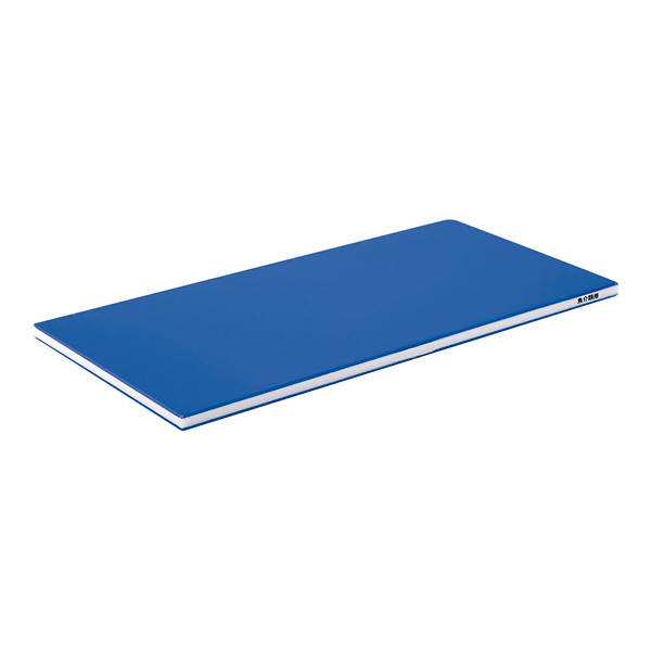 【 業務用 】ポリエチレン・ブルーかるがるまな板 750×350×25