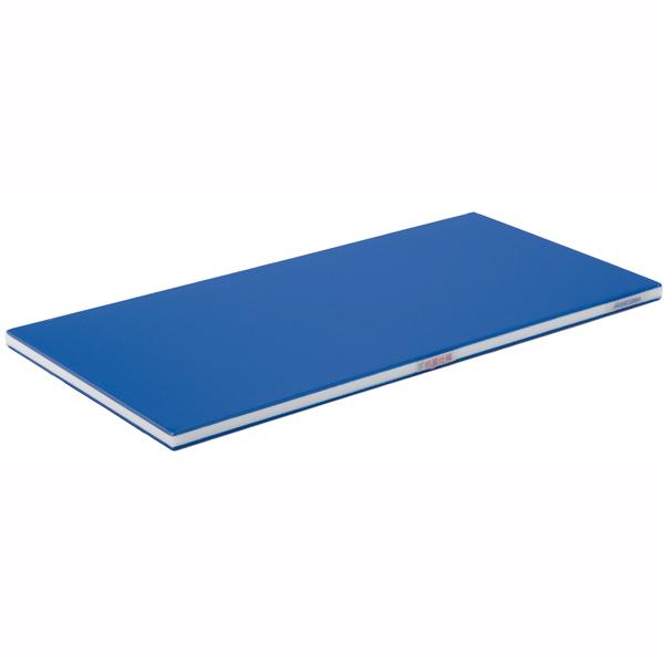 【 業務用 】抗菌ポリエチレン・ブルーかるがるまな板 600×350×25