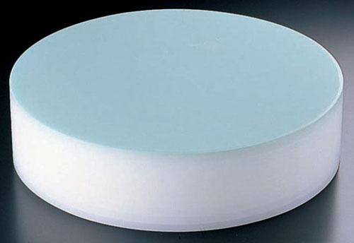 【 業務用 】【 中華まな板 φ350 H103mm 】積層 プラスチック カラー中華まな板 小 103mm ブルー 【 メーカー直送/代金引換決済不可 】