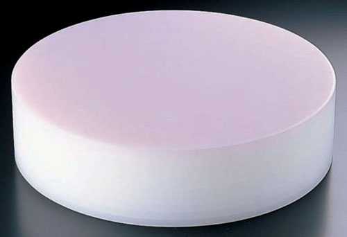 【 業務用 】【 中華まな板 φ450 H153mm 】積層 プラスチック カラー中華まな板 大 153mm ピンク 【 メーカー直送/代金引換決済不可 】