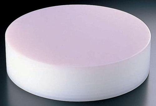 【 業務用 】【 中華まな板 φ400 H153mm 】積層 プラスチック カラー中華まな板 中 153mm ピンク 【 メーカー直送/代金引換決済不可 】