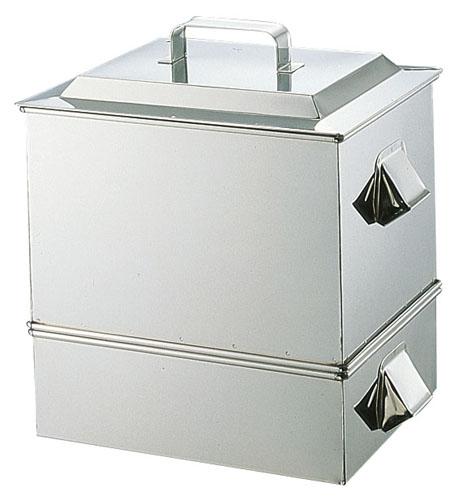 【 業務用 】SA21-0ステンレス製 うなぎ蒸器 小 【 蒸し器ステンレスせいろセイロ蒸篭 】