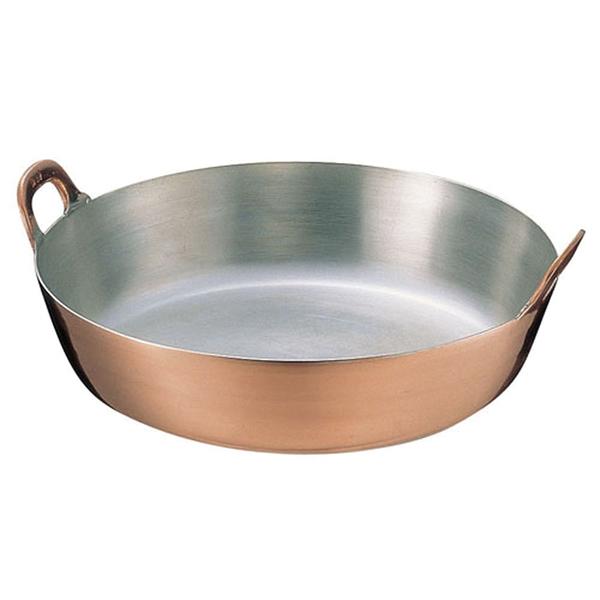 【 業務用 】【 揚げ鍋 】 業務用 SA銅製 揚鍋[天ぷら鍋] 55cm 【 揚げ鍋 業務用 】 【 送料無料 】