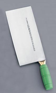 陳枝記 カラー中華包丁 グリーン KF1912G 【厨房館】