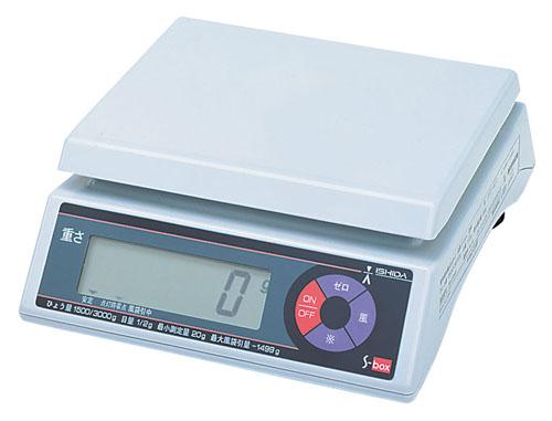 【 業務用 】イシダ 上皿型重量はかり S-box 30kg 取引証明用 【 メーカー直送/後払い決済不可 】