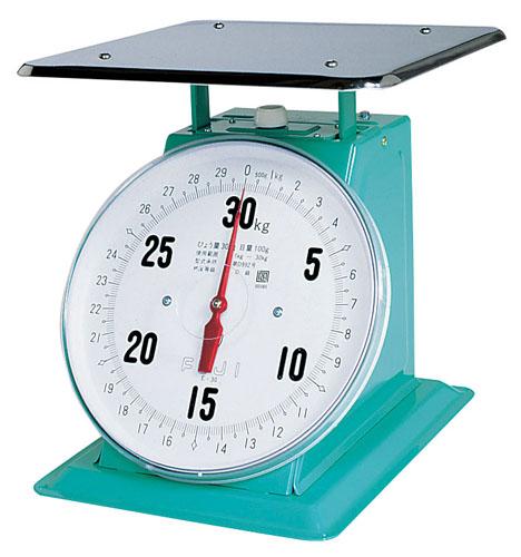 【 業務用 】フジ 上皿自動ハカリ 特大E型 30kg [平皿付]