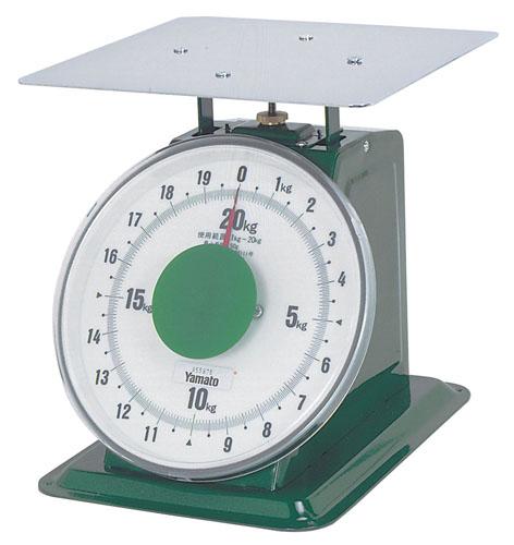【 業務用 】ヤマト 上皿自動はかり「大型」 平皿付 SDX-20 20kg