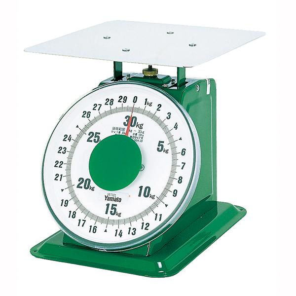【 業務用 】ヤマト 上皿自動はかり「大型」 平皿付 SDX-30 30kg