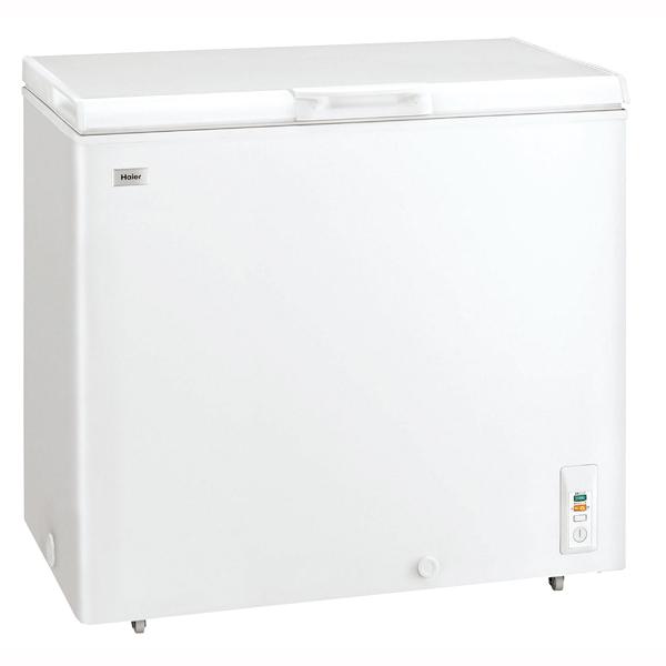 【 業務用 】ハイアール チェスト式冷凍庫(直冷式) JF-NC205F(W)