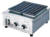 【 業務用 】電気式たこ焼器 ころがし式 TG-3 3連式84個焼【 メーカー直送/後払い決済不可 】