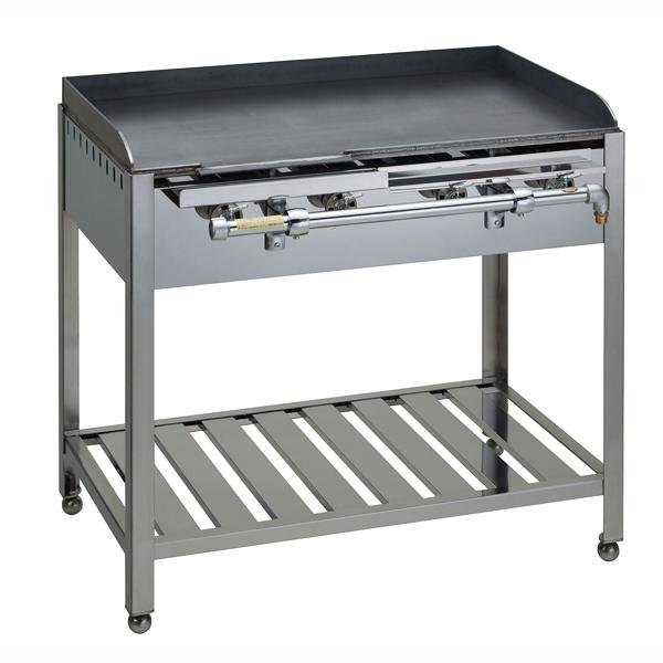 【 業務用 】テーブル式 鉄板焼器 GT-115 都市ガス【 メーカー直送/後払い決済不可 】