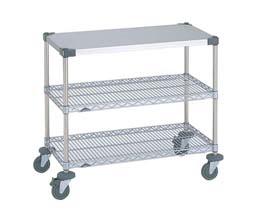 【 業務用 】ワーキングテーブル 2型 NWT2C-S 【 メーカー直送/後払い決済不可 】
