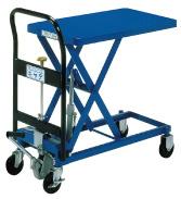 【 業務用 】手動式リフトテーブルキャデ LT-H150-7 【 メーカー直送/後払い決済不可 】