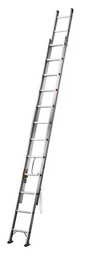 【 業務用 】アップスライダー 2連梯子[アルミ製] HE2-51 【 メーカー直送/代金引換決済不可 】