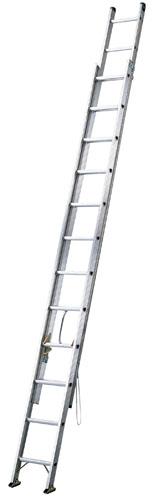 【 業務用 】アップスライダー 2連梯子[アルミ製]HE2-71