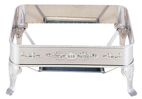 【 業務用 】UK18-8ユニット角湯煎用スタンド シェル26インチ