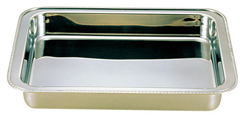 【 業務用 】UK18-8ユニット角湯煎用 ウォーターパン 20インチ