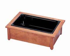 【 業務用 】カル・ミル キャル・ミル[CAL・MIL] 木製 コールドケース 412-18