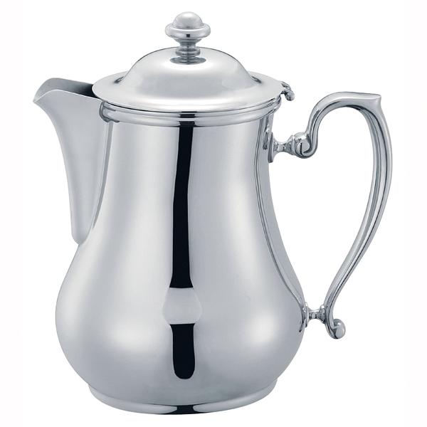 【 業務用 】SW18-8ビクトリアコーヒーポット 3人用 【 コーヒー ティー用品ステンレスコーヒーポット 】