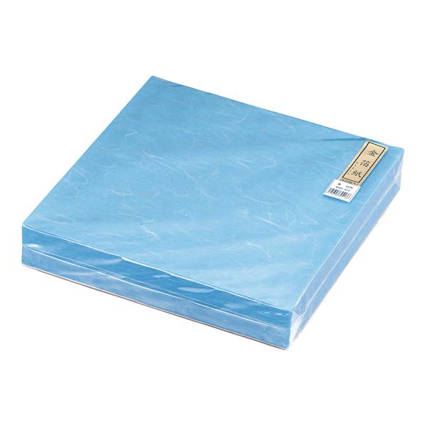 【 業務用 】金箔紙ラミネート 青 [500枚入] M30-413